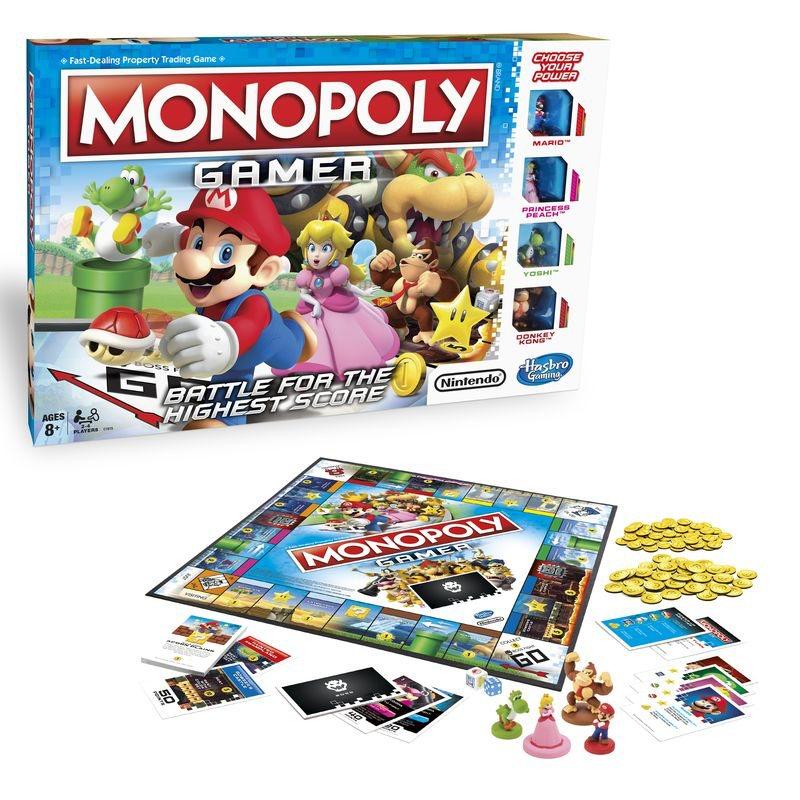 Monopoly versión Super Mario Bros - ChicaGeek
