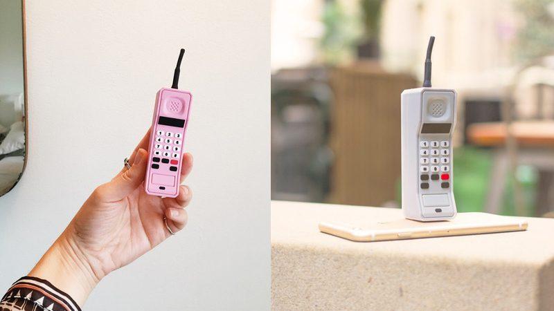 Batería externa para móvil con forma de… móvil