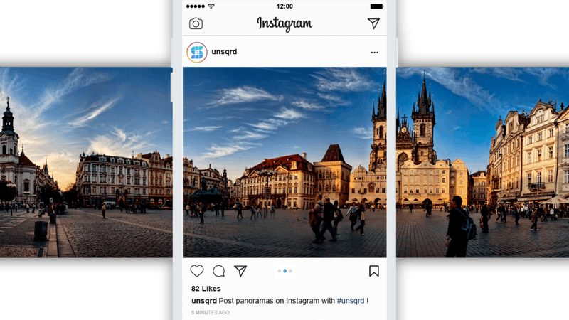 Unsquared: publica fotos panorámicas en Instagram fácilmente
