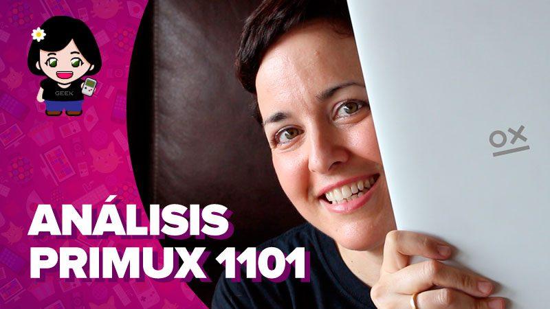 Vídeo: análisis del Primux Tour 1101, mitad portátil, mitad tablet