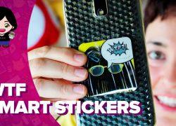 Vídeo: pega tu móvil donde quieras con las WTF Smart Stickers