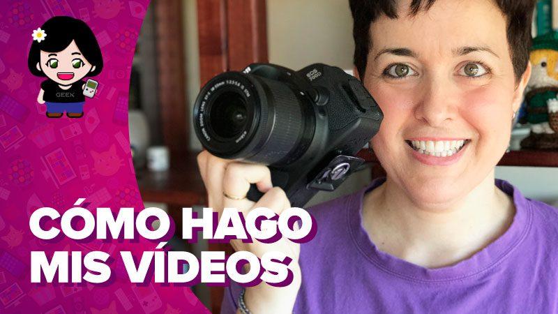 ¿Cómo grabo mis vídeos para YouTube?