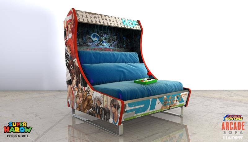 Increíbles sillones con diseño de máquinas recreativas