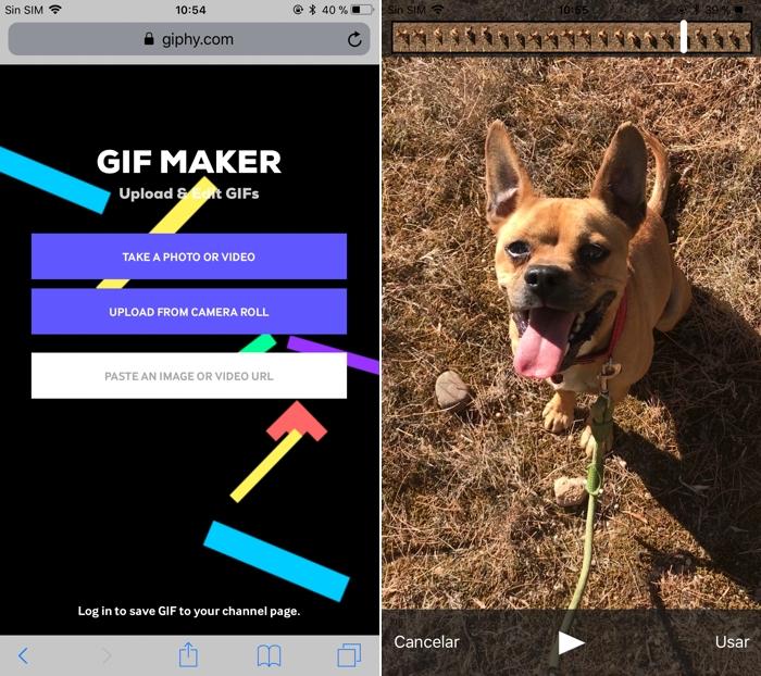 Convierte fotos y vídeos de tu móvil en GIFs animados... ¡sin apps!