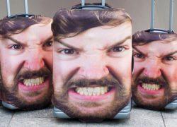 Una funda para la maleta…¡con tu cara!