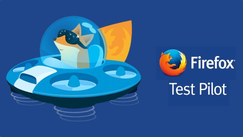 Prueba las nuevas funciones de Firefox con Test Pilot