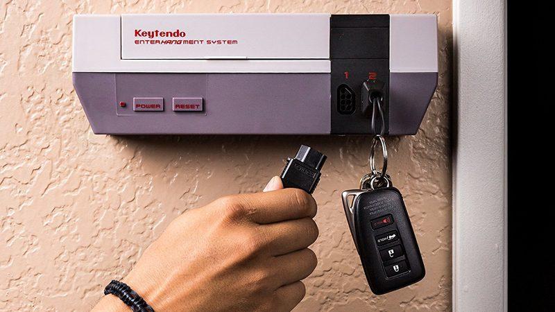¿Dónde deja las llaves un fan de Nintendo? En el Keytendo, claro