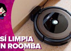 Vídeo: así limpia un robot Roomba