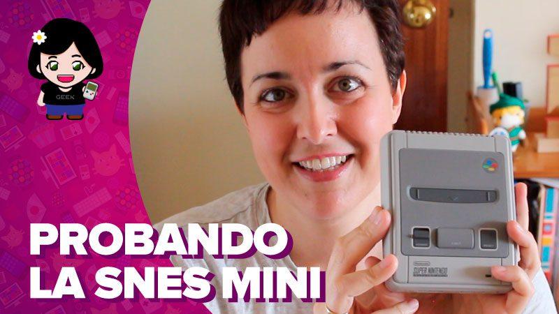 Vídeo: probando la SNES Mini
