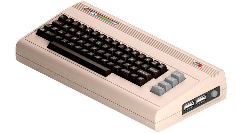La versión mini de Commodore 64 llegará pronto