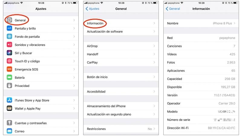 Cómo encontrar la configuración de tu ordenador o móvil