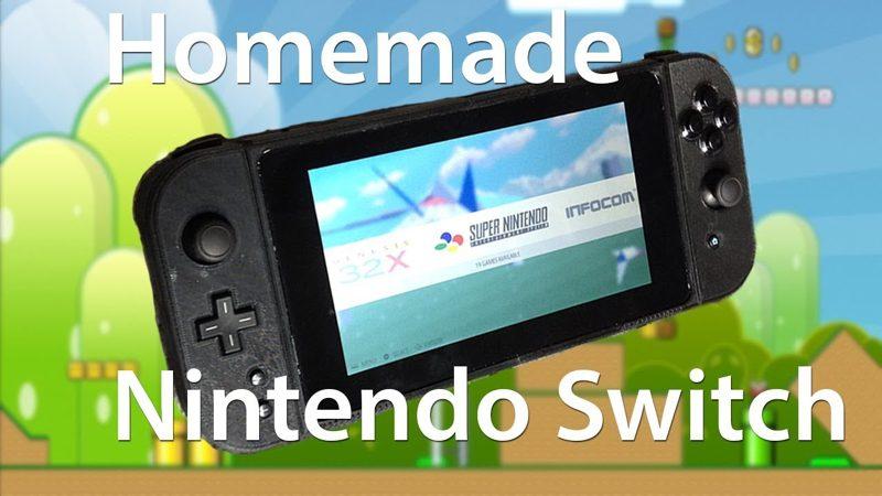 Este chico ha creado un clon de Nintendo Switch con un emulador retro