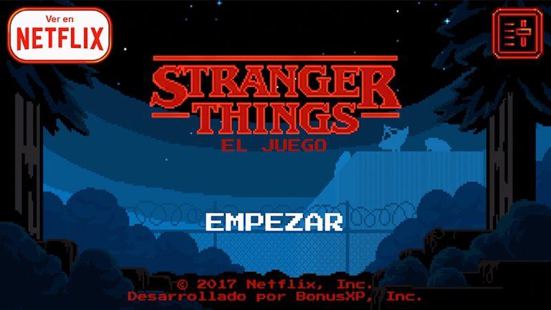 Stranger Things vuelve en forma de juego gratis para tu móvil