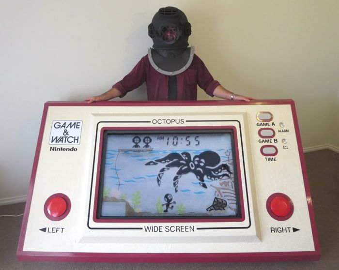 Una Game & Watch de Nintendo GIGANTE