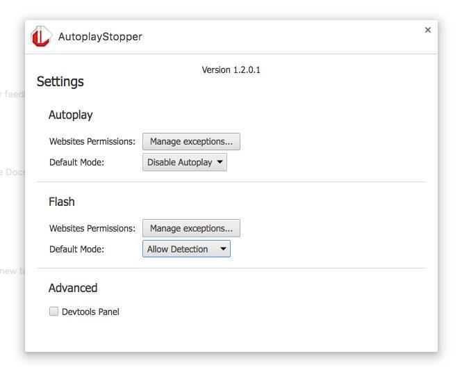 Evita la reproducción automática de vídeos con AutoplayStopper