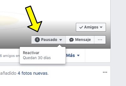 Cómo silenciar temporalmente a un amigo en Facebook