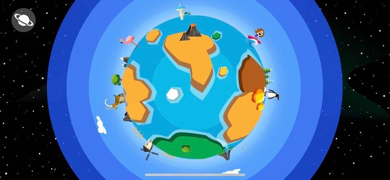 Comomola Planets, coloridos puzles animados para niños