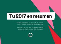 Tu resumen musical de 2017 en Spotify
