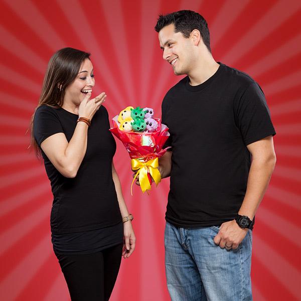 Por San Valentín regala un ramo... ¡pero no de flores!