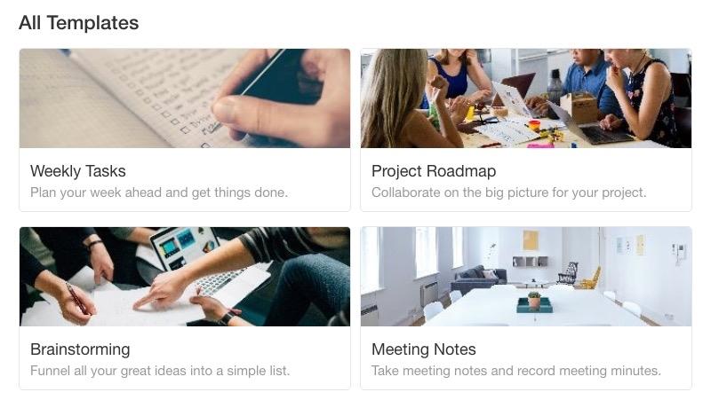 Crea tu lista de tareas online con Taskade