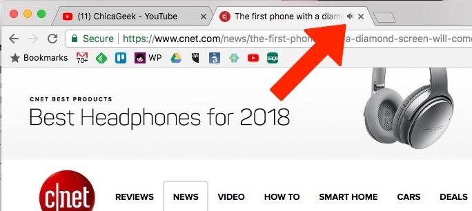 Chrome ya permite silenciar páginas web para siempre