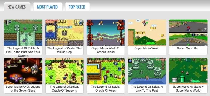 5 webs para disfrutar de videojuegos retro en tu navegador
