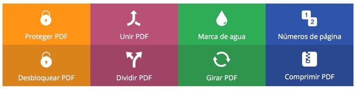 CleverPDF, 20 utilidades de PDF gratis online para lo que necesites