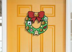 Guirnalda de Super Mario para una Navidad geek