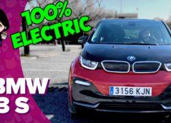 Probando el BMW i3s, el coche 100% eléctrico de BMW