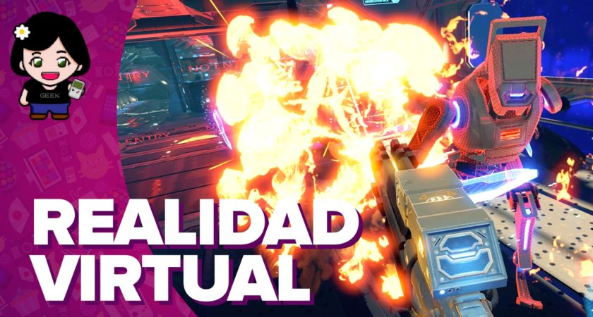 Probando la realidad virtual en Zero Latency