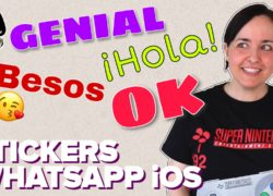 Crea stickers de texto para WhatsApp en tu iPhone