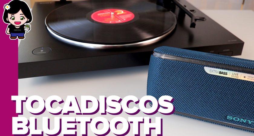 Escucha tus vinilos vía Bluetooth… con este tocadiscos de Sony