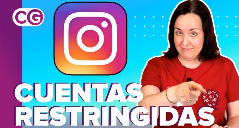 ¿Qué son las cuentas restringidas en Instagram?