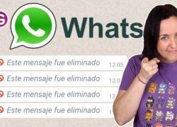 Así puedes leer los mensajes eliminados de WhatsApp