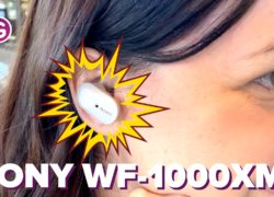 Auriculares con cancelación de ruido de Sony (WF-1000XM3)