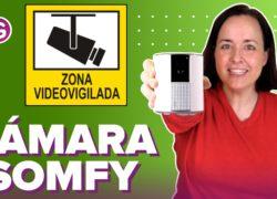 Somfy One+: vigilancia con cámara en tu casa