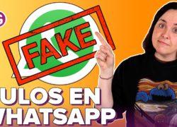 Cuidado con los fraudes y bulos de WhatsApp