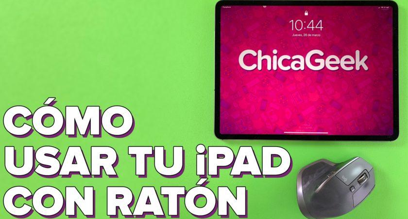 Cómo usar tu ratón (o trackpad) en el iPad con iPadOS 13.4