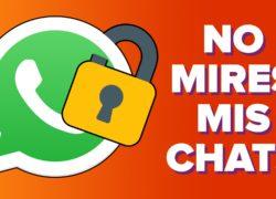 Protege tu WhatsApp: ¡que nadie espíe tus chats!
