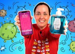 Cómo limpiar y desinfectar tu móvil