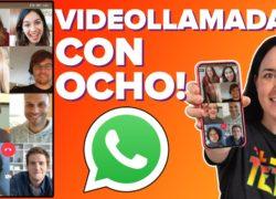 WhatsApp: cómo hacer videollamadas con hasta 8 personas