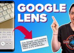 Convierte texto escrito a mano a formato digital con Google Lens