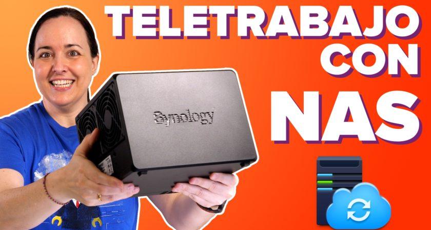 Teletrabajo más seguro (y eficiente!) con tu NAS Synology