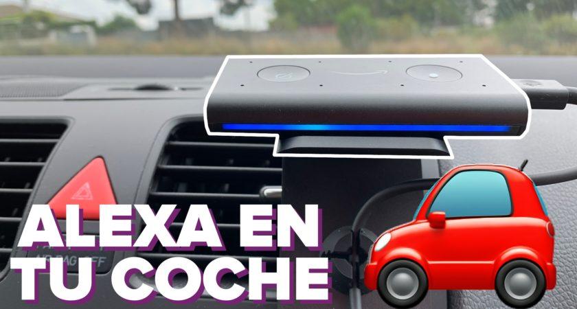 Amazon Echo Auto: cómo tener Alexa en tu coche
