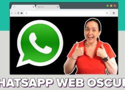 Activa el modo oscuro en WhatsApp Web y WhatsApp para Escritorio