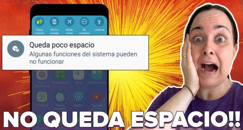 ¿Poco espacio en Android? ¡Así puedes liberar espacio en tu móvil!