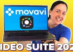 Movavi Video Suite 2021: edita vídeo, graba pantalla, crea presentaciones y más!