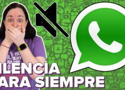 Ya se pueden silenciar grupos en WhatsApp… ¡para siempre!