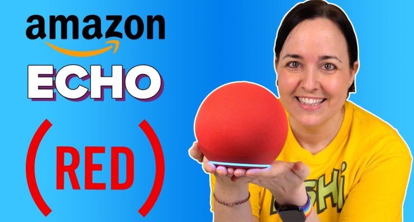 Amazon Echo 4 [RED]: una edición especial solidaria