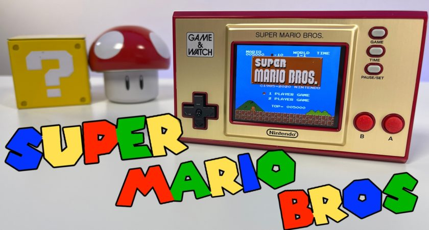 Así es la nueva Game & Watch Super Mario Bros de Nintendo